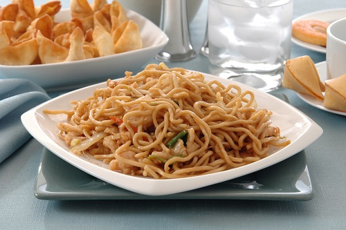 Chicken Chow Mein - Chinese food